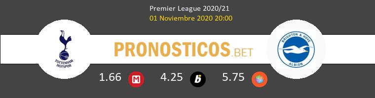 Tottenham Hotspur vs Brighton Pronostico (1 Nov 2020) 1
