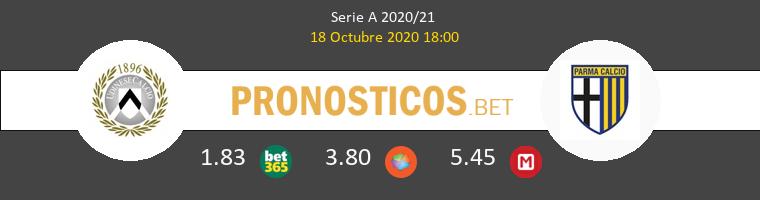 Udinese Parma Pronostico 18/10/2020 1