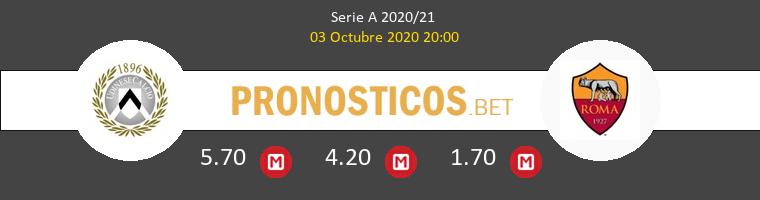 Udinese Roma Pronostico 03/10/2020 1