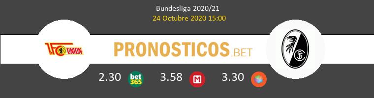 Union Berlin SC Freiburg Pronostico 24/10/2020 1