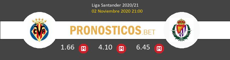 Villarreal vs Real Valladolid Pronostico (2 Nov 2020) 1