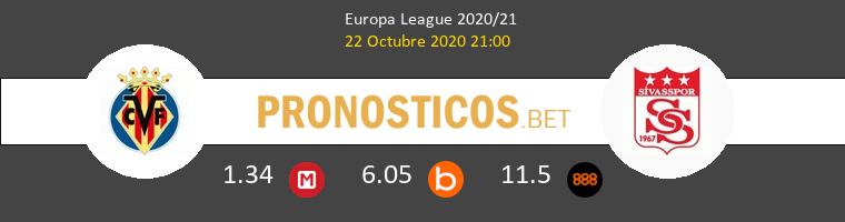 Villarreal Sivasspor Pronostico 22/10/2020 1