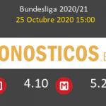 Wolfsburg Arminia Bielefeld Pronostico 25/10/2020 4