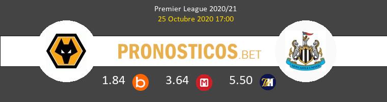 Wolverhampton Wanderers Newcastle Pronostico 25/10/2020 1