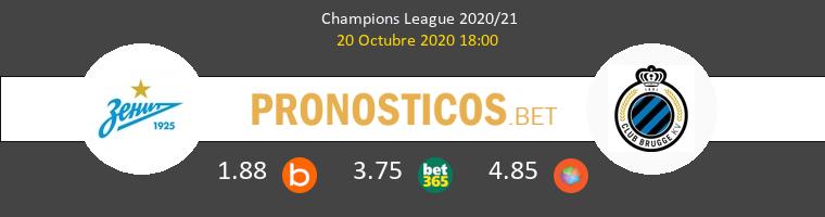Zenit Club Brugge Pronostico 20/10/2020 1