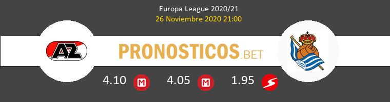AZ Alkmaar vs Real Sociedad Pronostico (26 Nov 2020) 1