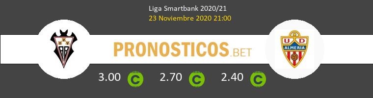 Albacete vs Almería Pronostico (23 Nov 2020) 1