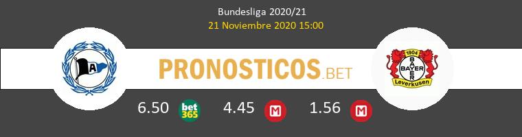 Arminia Bielefeld vs Leverkusen Pronostico (21 Nov 2020) 1