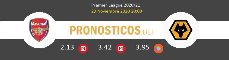 Arsenal vs Wolves Pronostico (29 Nov 2020) 1