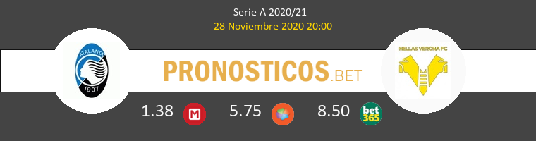 Atalanta vs Hellas Verona Pronostico (28 Nov 2020) 1