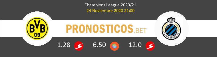 Dortmund vs Club Brugge Pronostico (24 Nov 2020) 1