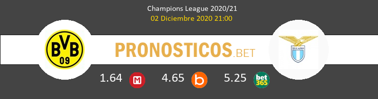 Dortmund vs Lazio Pronostico (2 Dic 2020) 1