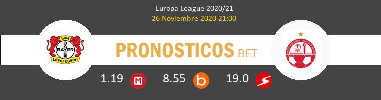 Bayer Leverkusen vs Hapoel Be'er Sheva Pronostico (26 Nov 2020) 1