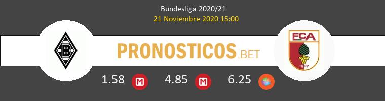 B. Mönchengladbach vs FC Augsburg Pronostico (21 Nov 2020) 1