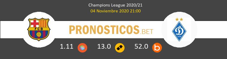 Barcelona vs Dinamo Kiev Pronostico (4 Nov 2020) 1
