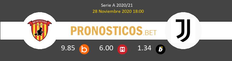 Benevento vs Juventus Pronostico (28 Nov 2020) 1