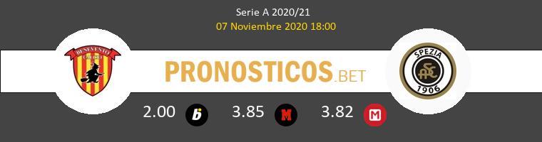 Benevento vs Spezia Pronostico (7 Nov 2020) 1