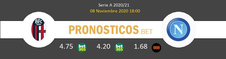 Bologna vs Napoles Pronostico (8 Nov 2020) 1