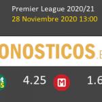 Brighton vs Liverpool Pronostico (28 Nov 2020) 5