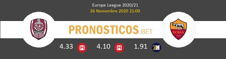 CFR Cluj vs Roma Pronostico (26 Nov 2020) 1