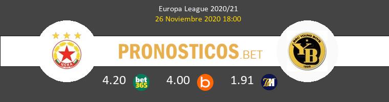 CSKA Sofia vs Young Boys Pronostico (26 Nov 2020) 1