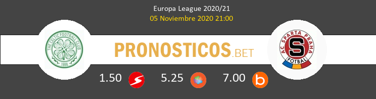 Celtic vs Sparta Praha Pronostico (5 Nov 2020) 1