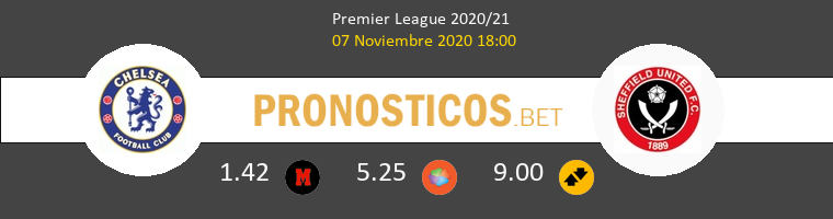 Chelsea vs Sheffield Pronostico (7 Nov 2020) 1