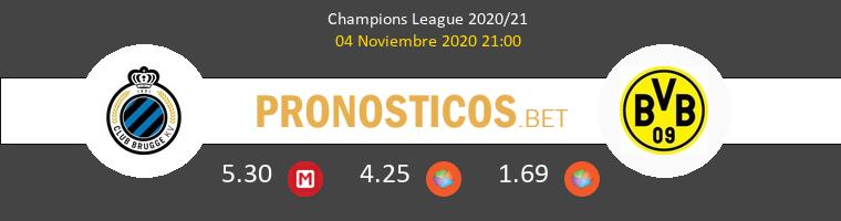 Club Brugge vs Dortmund Pronostico (4 Nov 2020) 1