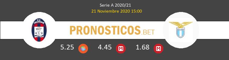Crotone vs Lazio Pronostico (21 Nov 2020) 1