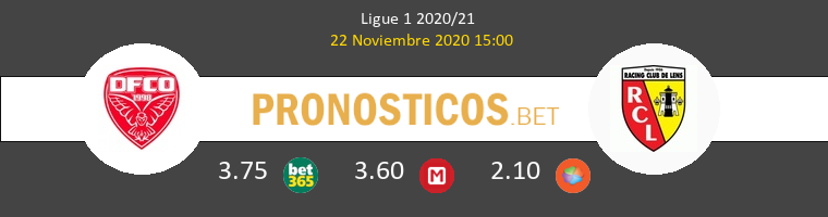 Dijon FCO vs Lens Pronostico (22 Nov 2020) 1