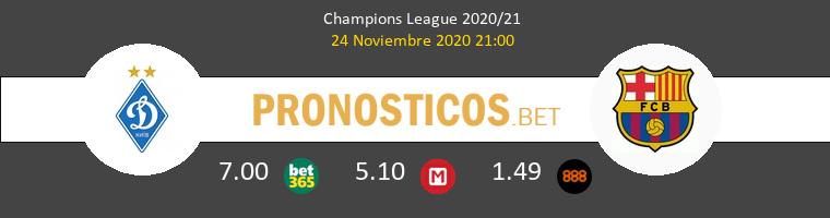 Dinamo Kiev vs Barcelona Pronostico (24 Nov 2020) 1