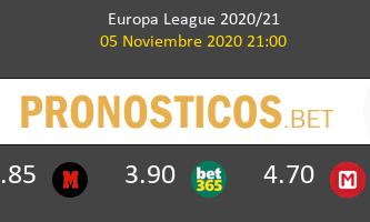 Dinamo Zagreb vs Wolfsberger AC Pronostico (5 Nov 2020) 2