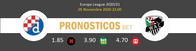 Dinamo Zagreb vs Wolfsberger AC Pronostico (5 Nov 2020) 1