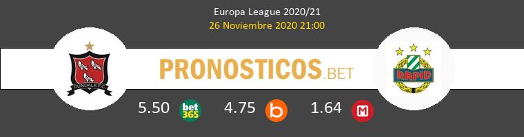 Dundalk vs Rapid Wien Pronostico (26 Nov 2020) 1