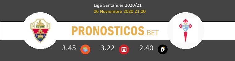 Elche vs Celta Pronostico (6 Nov 2020) 1