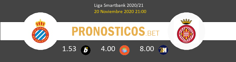 Espanyol vs Girona Pronostico (20 Nov 2020) 1
