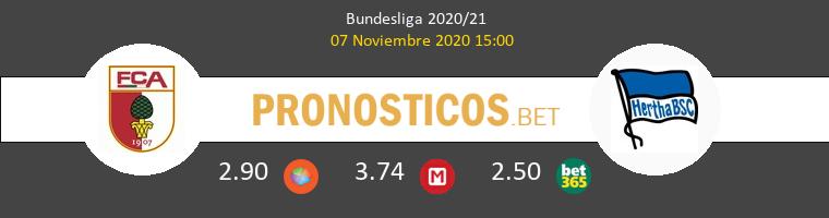 FC Augsburgo vs Hertha BSC Pronostico (7 Nov 2020) 1