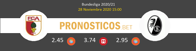 FC Augsburg vs SC Freiburg Pronostico (28 Nov 2020) 1