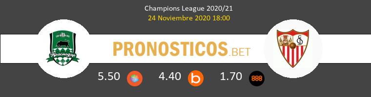 FK Krasnodar vs Sevilla Pronostico (24 Nov 2020) 1