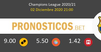Ferencvárosi vs Barcelona Pronostico (2 Dic 2020) 13
