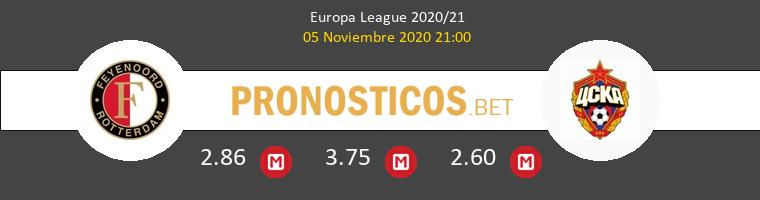 Feyenoord vs CSKA Moskva Pronostico (5 Nov 2020) 1