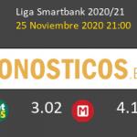Fuenlabrada vs Ponferradina Pronostico (25 Nov 2020) 6