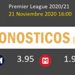Fulham vs Everton Pronostico (21 Nov 2020) 5