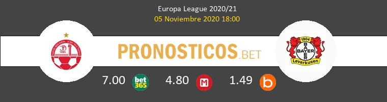 Hapoel Be'er Sheva vs Leverkusen Pronostico (5 Nov 2020) 1