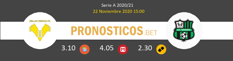 Hellas Verona vs Sassuolo Pronostico (22 Nov 2020) 1