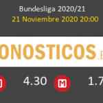 Hertha Berlín vs Borussia Pronostico (21 Nov 2020) 3