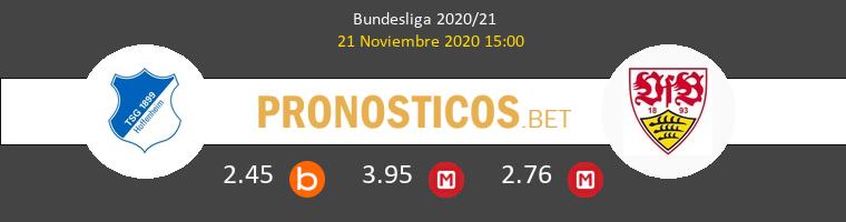Hoffenheim vs Stuttgart Pronostico (21 Nov 2020) 1