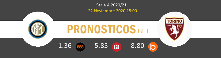 Inter vs Torino Pronostico (22 Nov 2020) 1