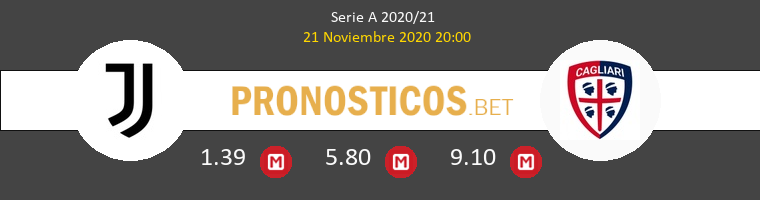 Juventus vs Cagliari Pronostico (21 Nov 2020) 1