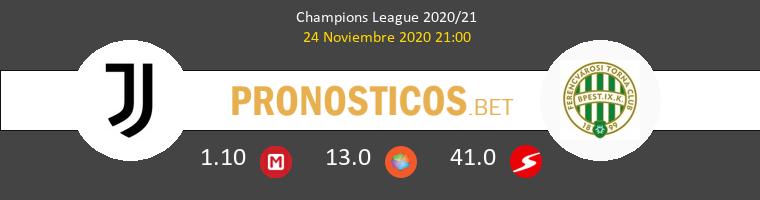 Juventus vs Ferencvárosi Pronostico (24 Nov 2020) 1